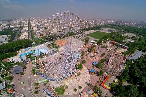 عکس قدیمی پارک ملت مشهد