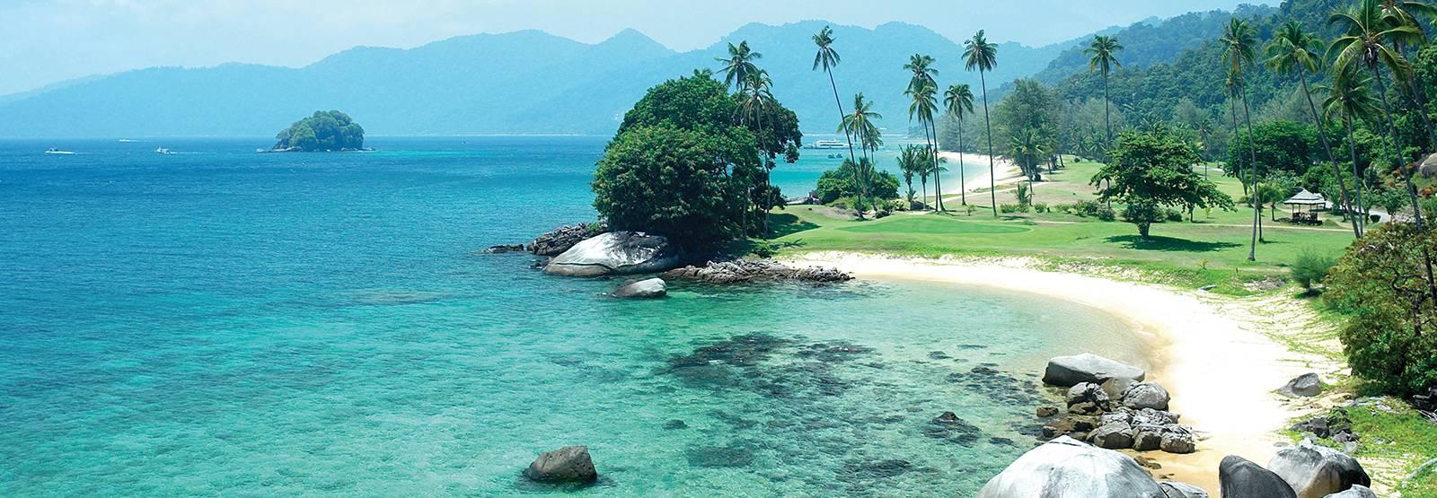 جزیره ی تیومان مالزی بهشت روی زمین