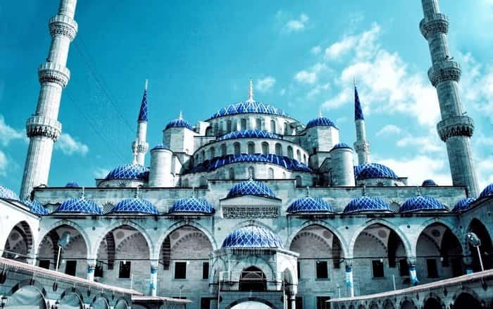 مسجد سلطان احمد ( مسجد آبی ) استانبول (Sultan Ahmed Mosque (Blue Mosque