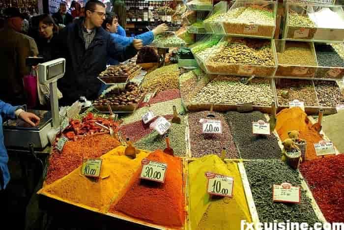 بازار ادویه استانبول Istanbul spice market
