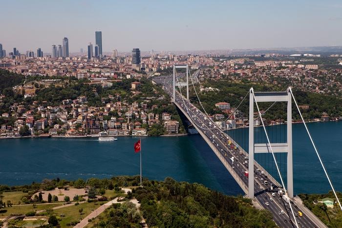 پل بسفر استانبول Istanbul Bosphorus Bridge