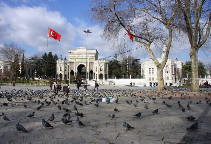 میدان بایزید استانبول Beyazit Square