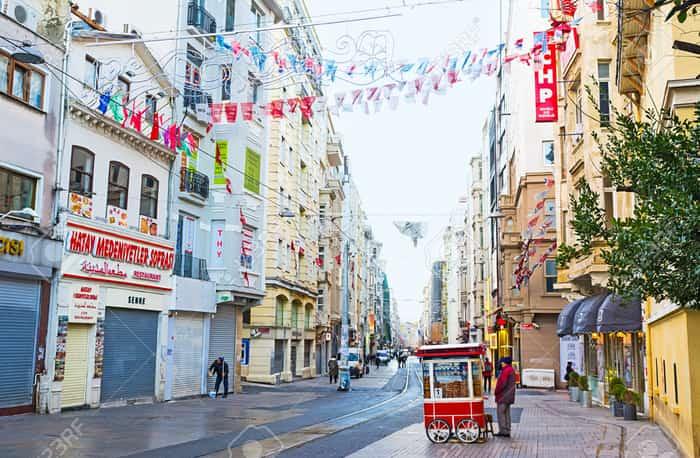 خیابان استقلال استانبول Independence Avenue Istanbul