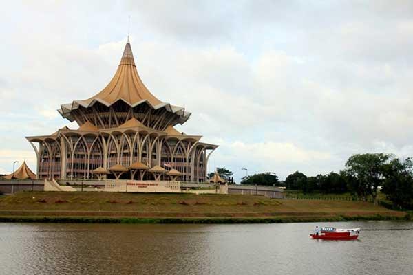 شهر کوچينگ مالزي