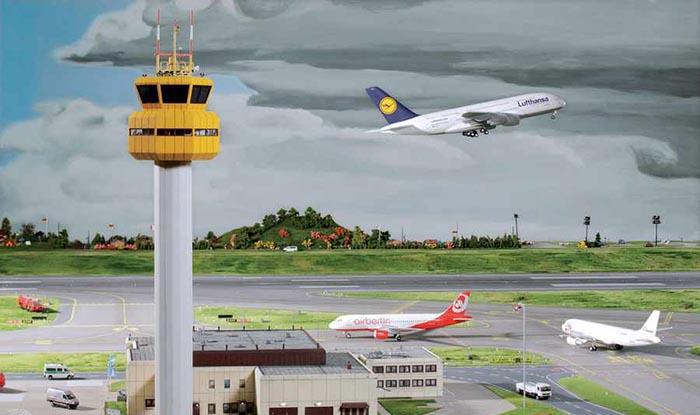 فرودگاه میناتوری هامبورگ