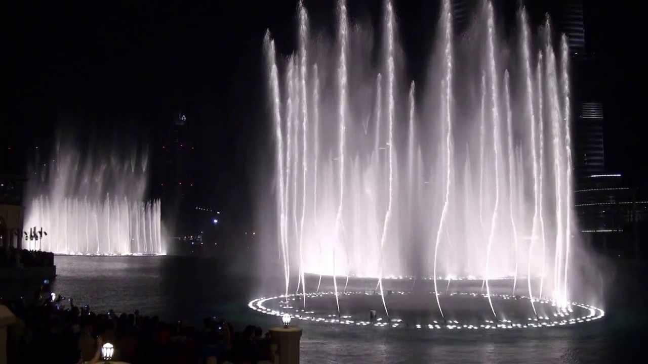 رقص آب دبی مال
