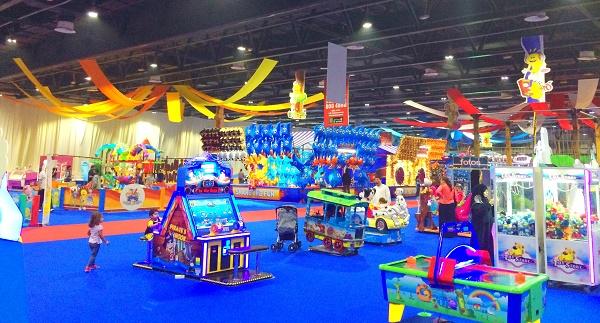 چهارمین شهربازی دبی WOW Kids Amusement Arcade