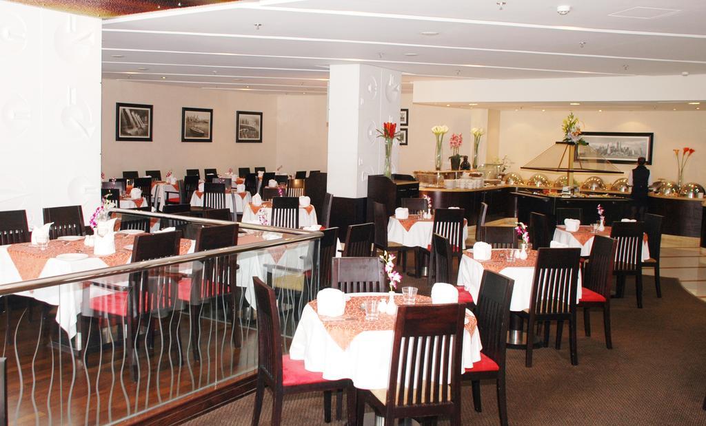 رستوران های هتل اونیو دبی