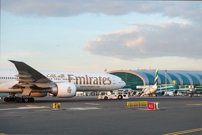 قسمت های مختلف فرودگاه بین المللی دبی