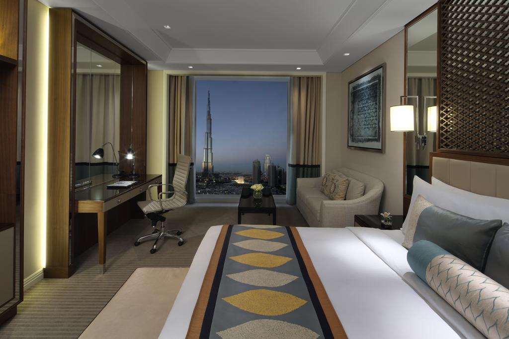 اتاق های هتل تاج دبی