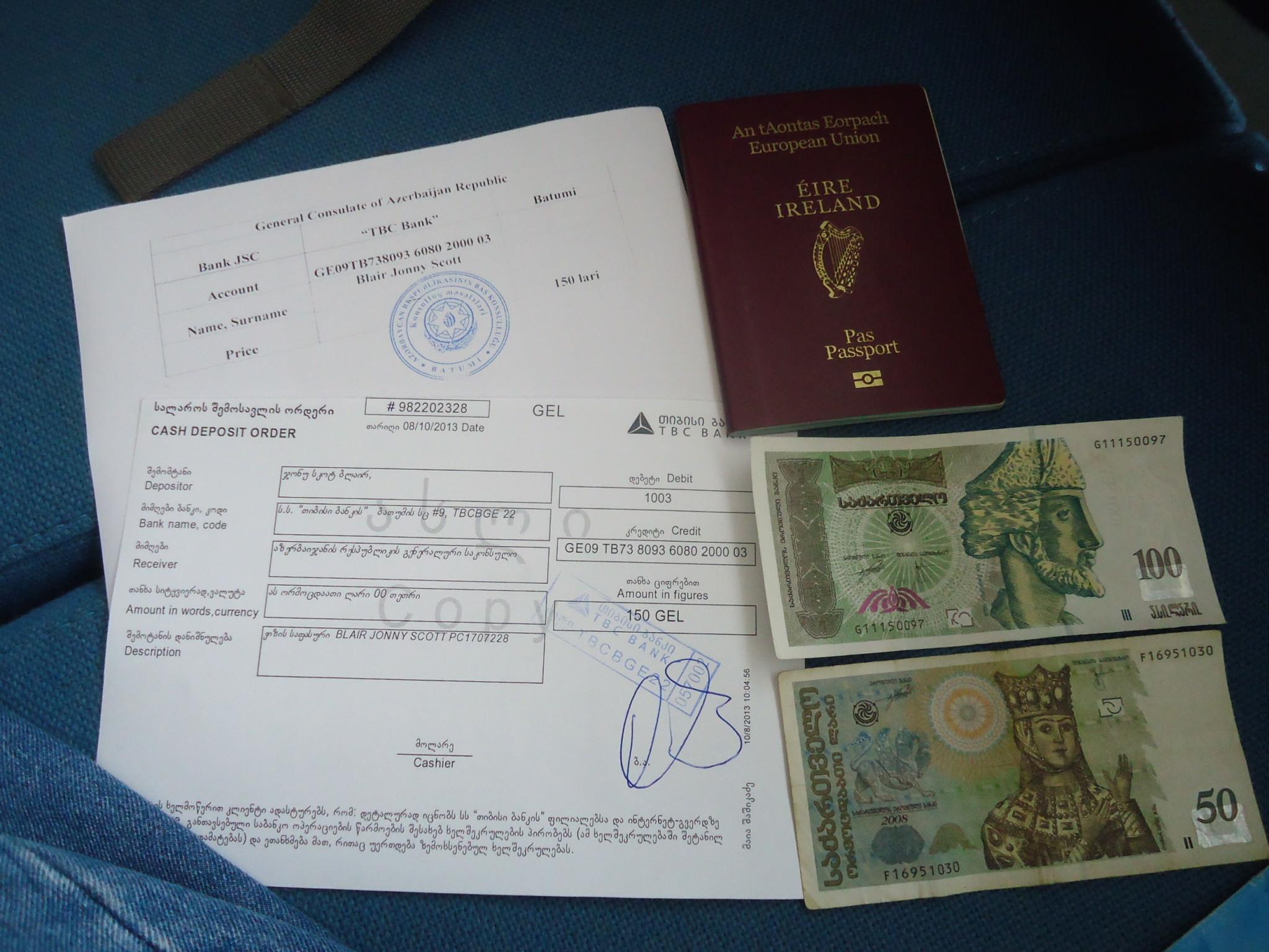 هزینه ویزای سفر به آذربایجان