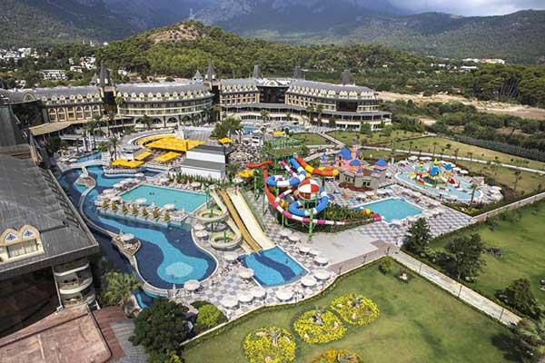 هتل لوشاتو پرستیژ منطقه کمر آنتالیا
