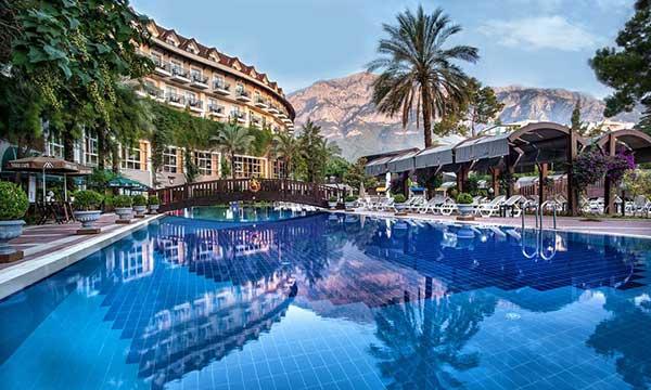 هتل آلکوکلار منطقه کمر آنتالیا
