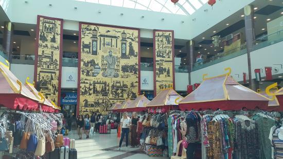 شعبه دوم بازار چینی ها در دبی