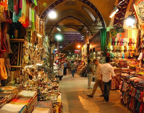 معماری بازار کاپالی چارشی استانبول