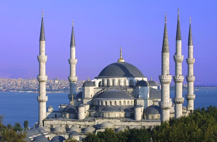 گذشته مسجد سلطان احمد استانبول