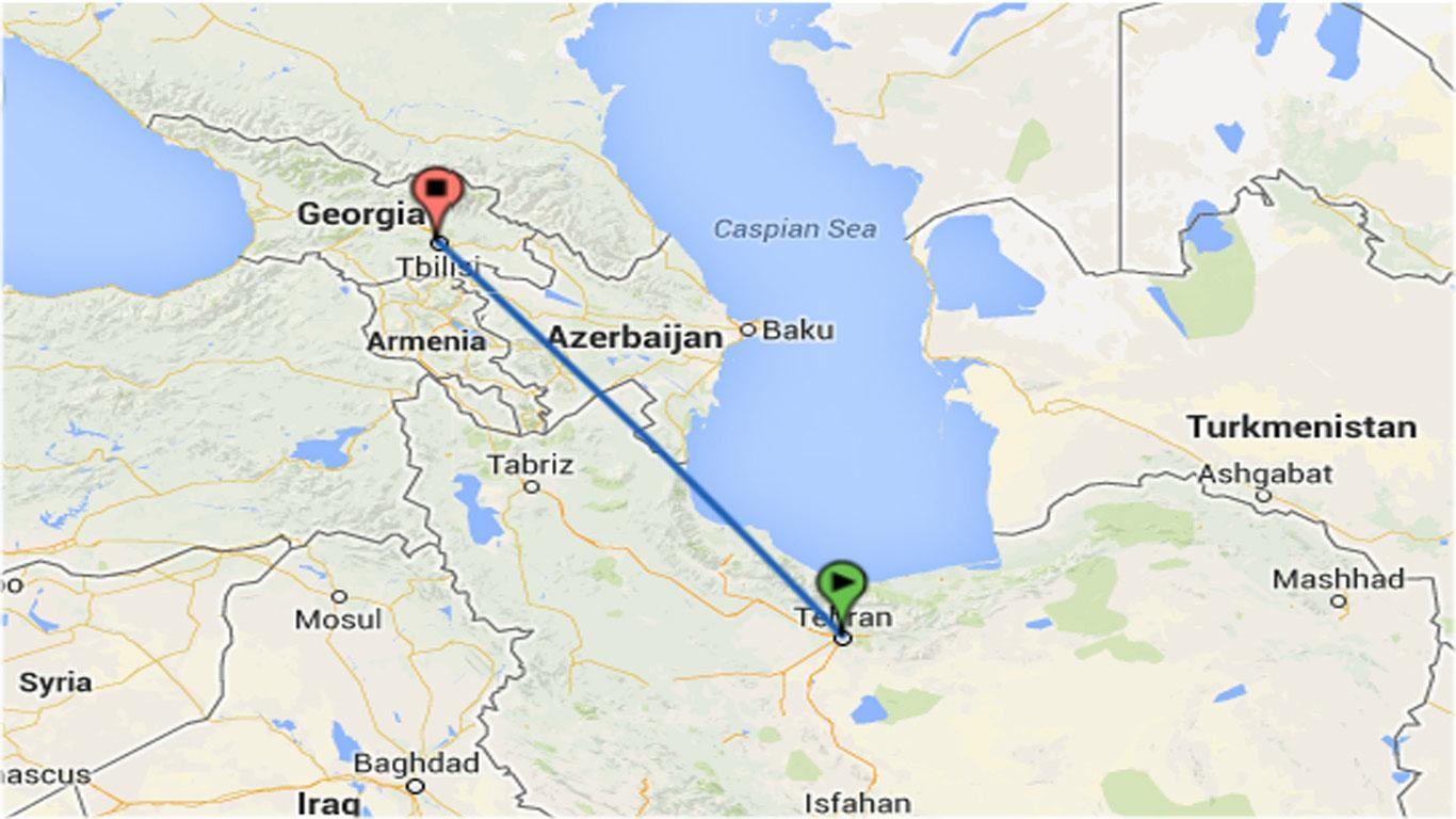 هزینه سفر به گرجستان با خودروی شخصی