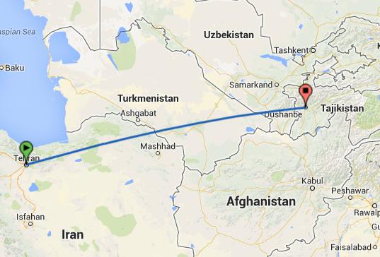 سفر زمینی به تاجیکستان با خودرو شخصی