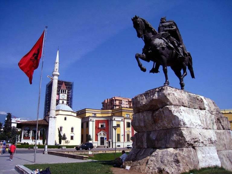 نام کشور آلبانی