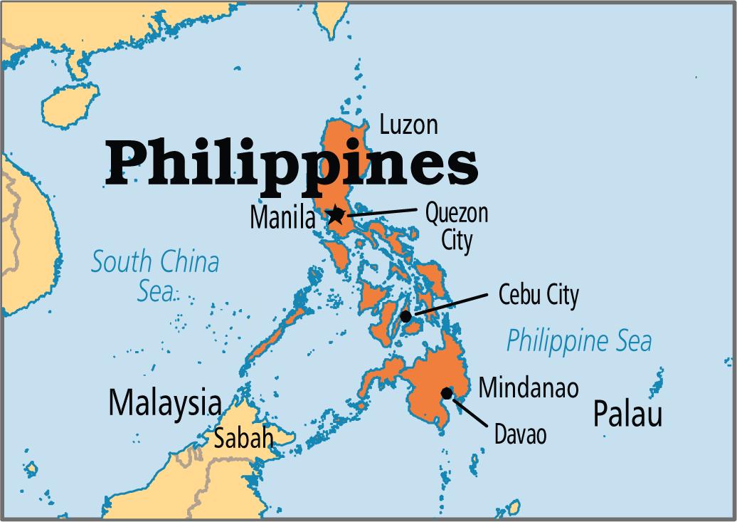 جزیره ها و دریاچه های فیلیپین