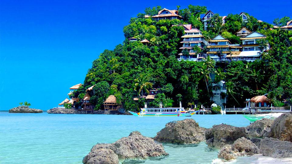 جزیره بوراکای فیلیپین