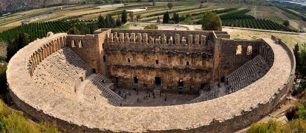 بنای تاریخی آسپندوس آنتالیا