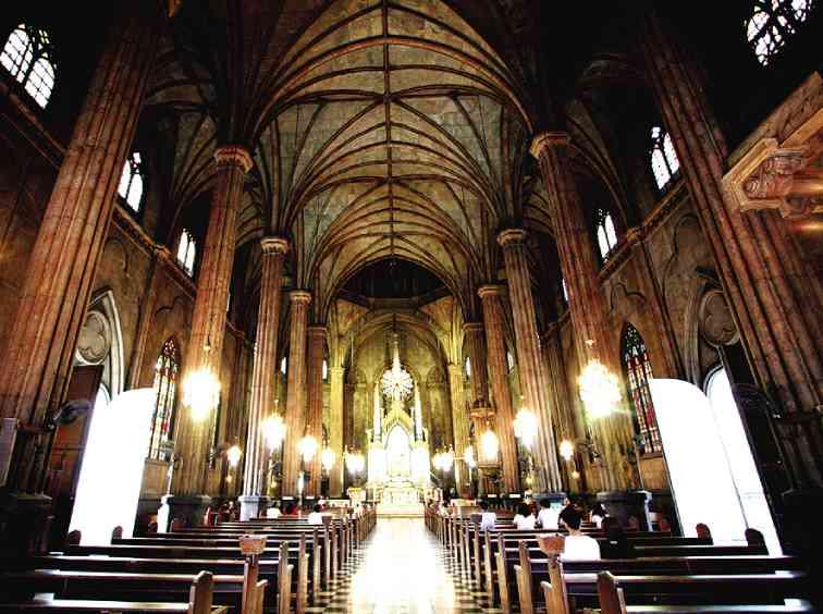کلیسای سن سباستین مانیل
