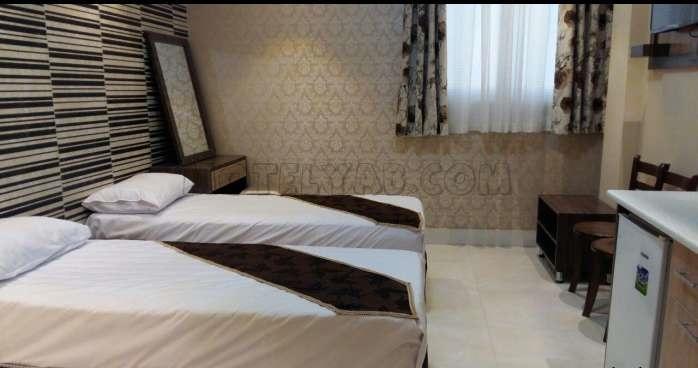 اتاق های هتل فرزانگان مشهد