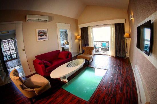 اتاقهای هتل ترنج کیش