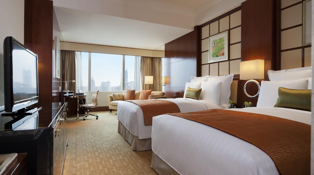اتاق های هتل ماریوت شانگهای