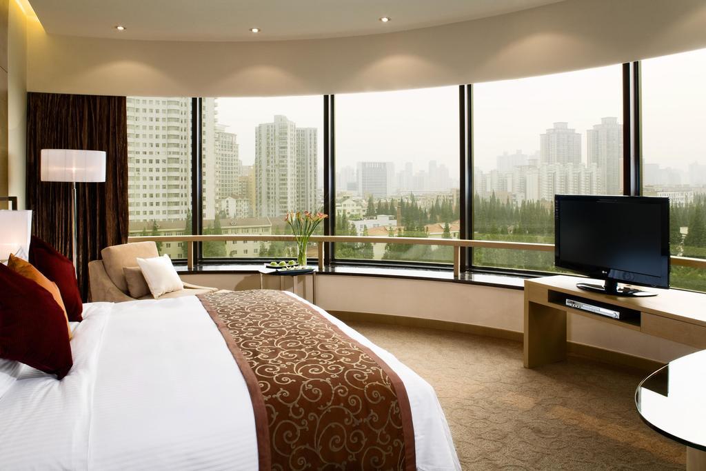 اتاق های هتل کراون پلازا شانگهای
