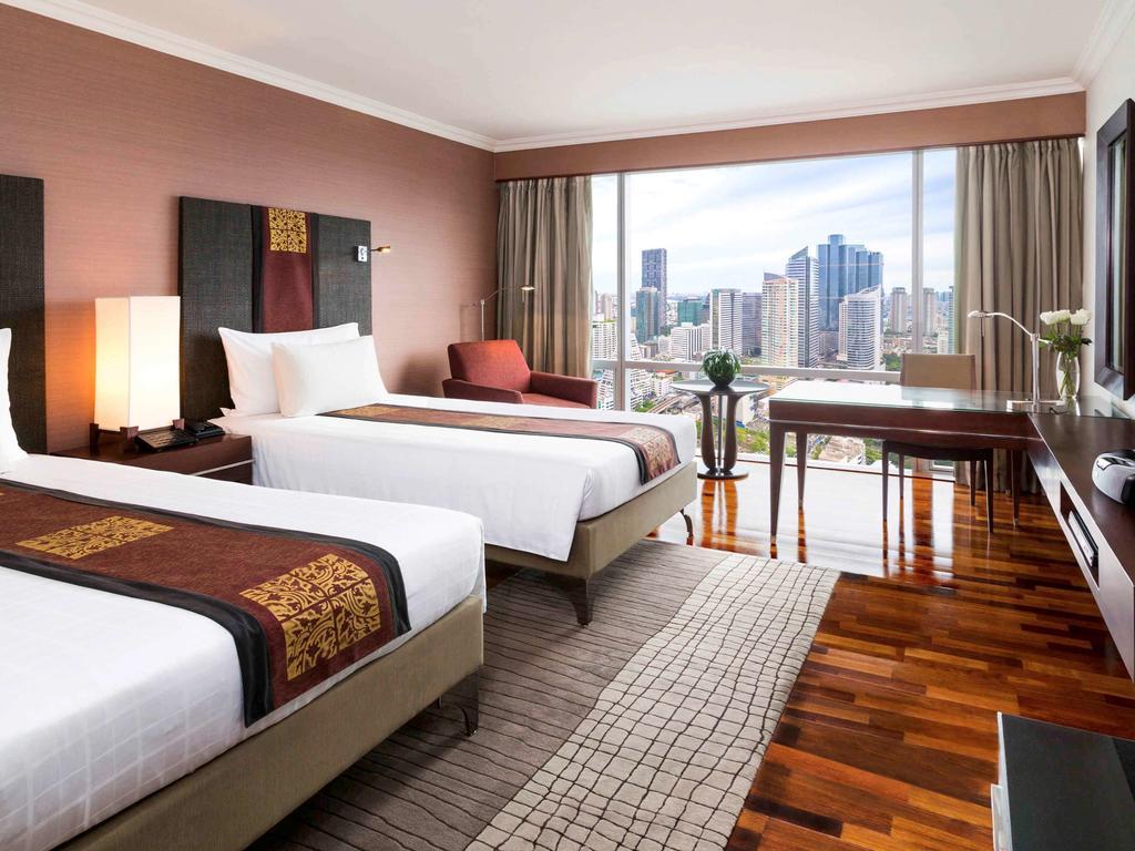 اتاق های هتل پول من بانکوک