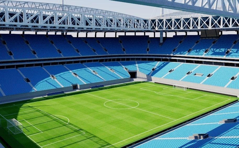 استادیوم کرستوفسکی سن پترزبورگ محل برگزاری مسابقات جام جهانی 2018