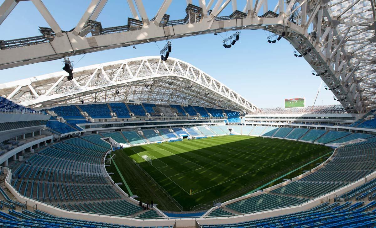 ورزشگاه المپیک فیشت محل برگزاری مسابقات جام جهانی 2018