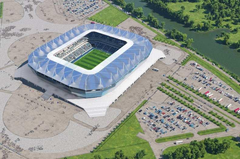 استادیوم کالینینگراد محل برگزاری جام جهانی روسیه 2018
