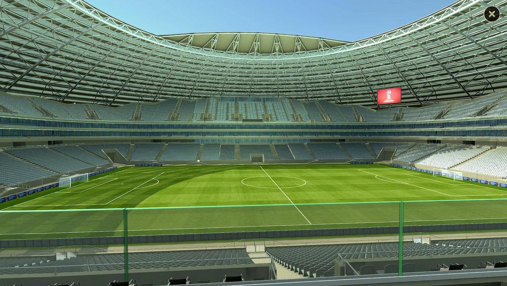 استادیوم سامارا محل برگزاری مسابقات جام جهانی روسیه 2018