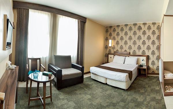 اتاق های هتل هاترا مشهد