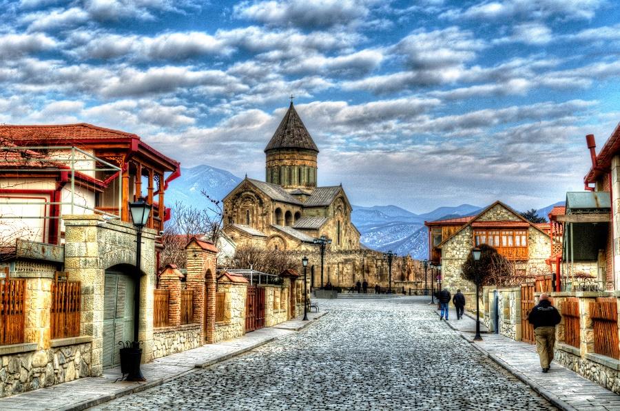 شرایط آب و هوایی فصل زمستان گرجستان