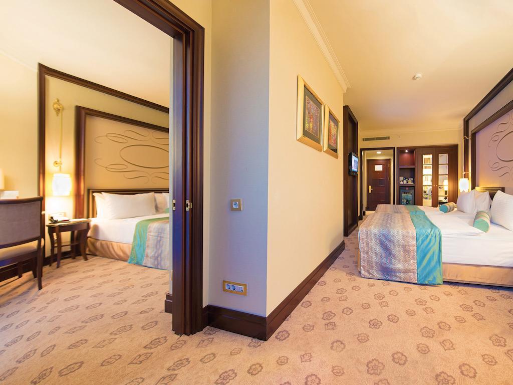 اتاق های هتل الیت ورد استانبول