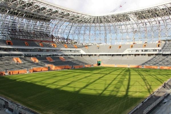 ورزشگاه موردوویا محل برگزاری مسابقات جام جهانی روسیه 2018