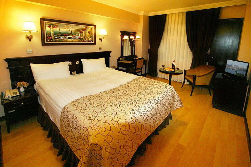 اتاق های هتل لاللی گونن استانبول