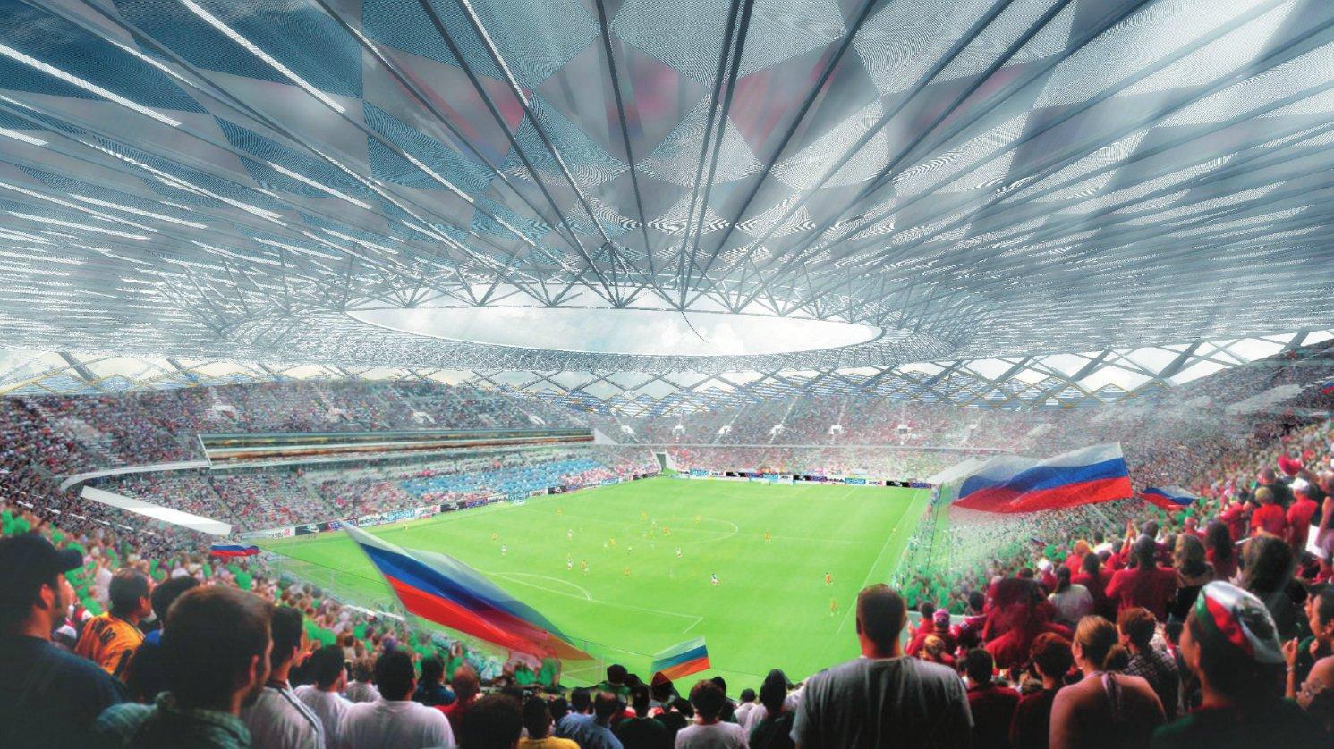استادیوم ولگوگراد آرنا محل برگزاری مسابقات جام جهانی روسیه 2018