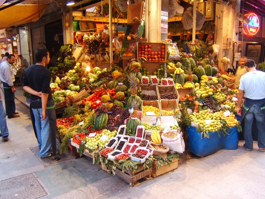 محصولات چهارشنبه بازار فاتیح استانبول