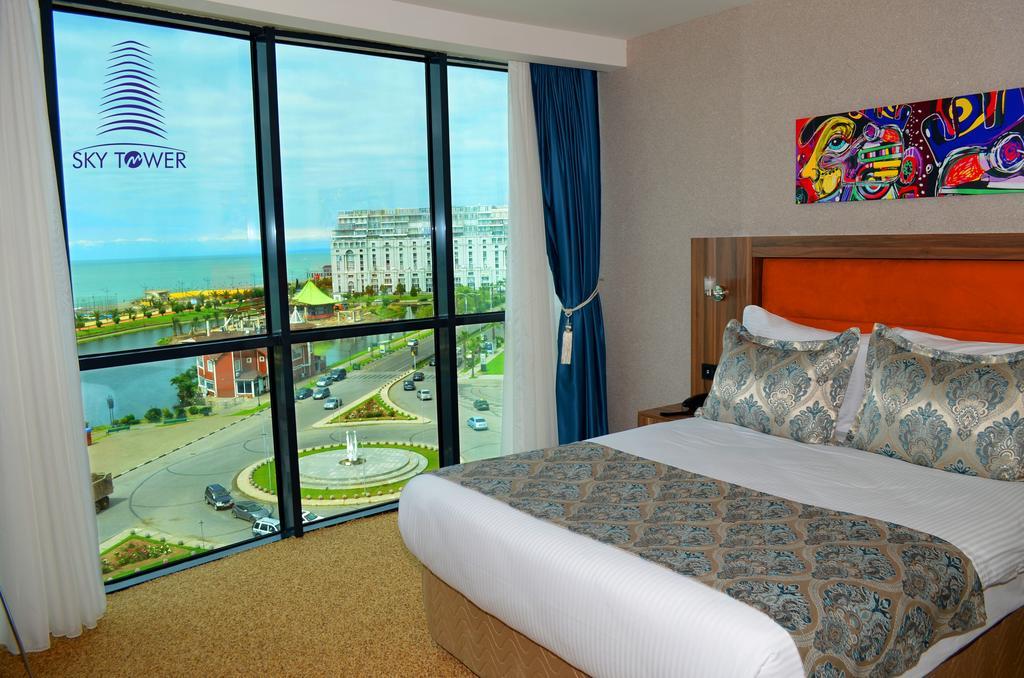 اتاق های هتل اسکای تاور باتومی