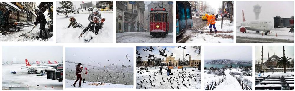 سفر به استانبول در زمستان