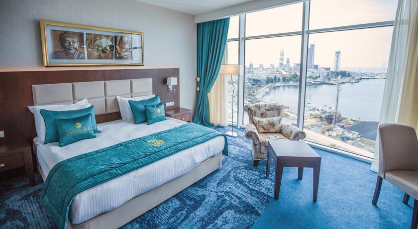 اتاق های هتل لئوگرند باتومی