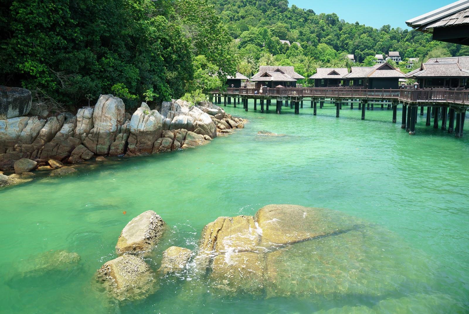 جزیره پانگکور لوت مالزی