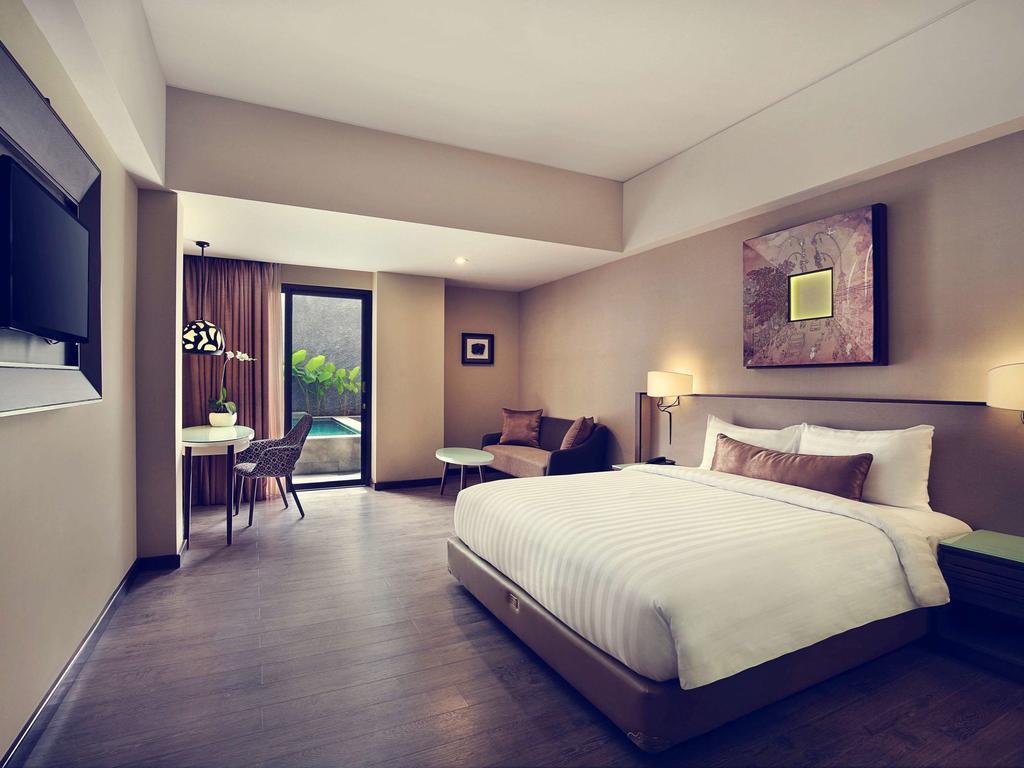 اتاق های هتل مکیوری بالی لگین