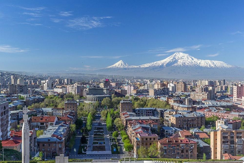 خیابان مارشال باغرامیان ارمنستان