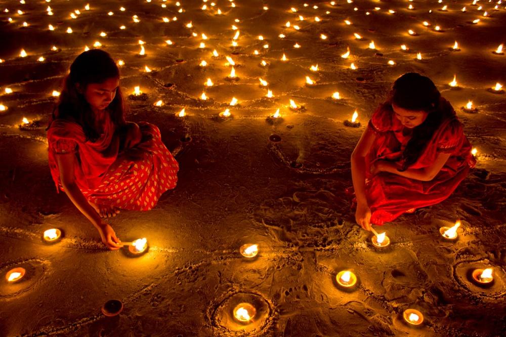 پنجمین روز از فستیوال نور در هند